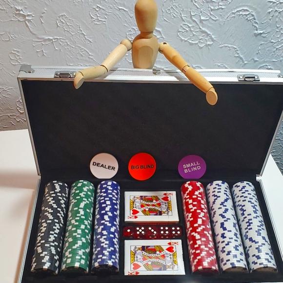 New poker set !!!!